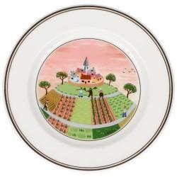 Тарелка пирожковая Деревенька 17 см Design Naif Villeroy & Boch