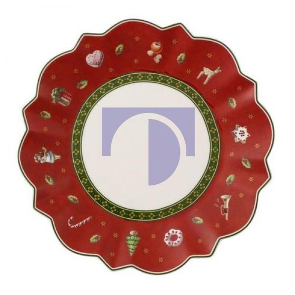 Тарелка пирожковая красная 17 см Toy's Delight Villeroy & Boch