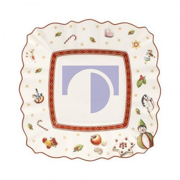Тарелка пирожковая квадратная 17 см Toy's Delight Villeroy & Boch
