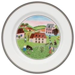 Тарелка пирожковая Мельница 17 см Design Naif Villeroy & Boch
