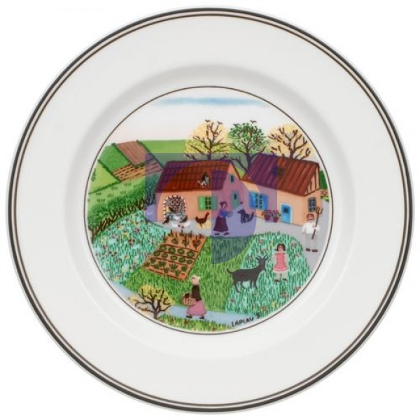 Тарелка пирожковая На ферме 17 см Design Naif Villeroy & Boch