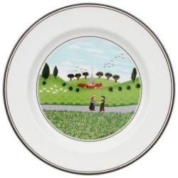 Тарелка пирожковая Встреча 17 см Design Naif Villeroy & Boch