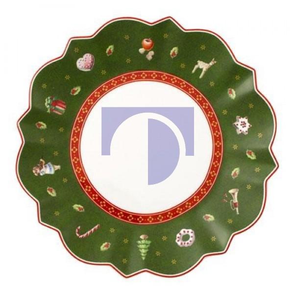 Тарелка пирожковая зеленая 17 см Toy's Delight Villeroy & Boch
