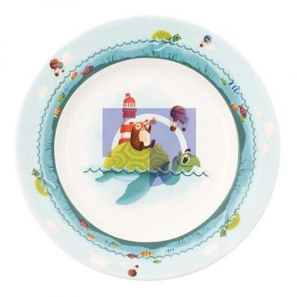 Тарелка плоская детская 22 см Chewy around the world Villeroy & Boch