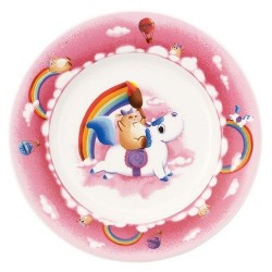 Тарілка плоска дитяча 22 см Lily in Magicland Villeroy & Boch