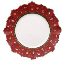 Тарелка столовая красная 29 см Toy's Delight Villeroy & Boch