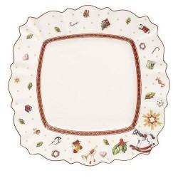 Тарелка столовая квадратная 28,5 см Toy's Delight Villeroy & Boch