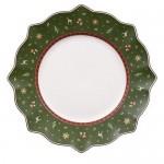 Тарелка столовая зеленая 29 см Toy's Delight Villeroy & Boch