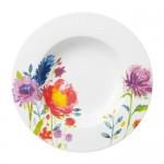 Тарелка суповая 24 см Anmut Flowers Villeroy & Boch