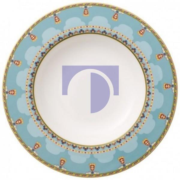 Тарелка суповая 24 см Samarkand Aquamarin Villeroy & Boch
