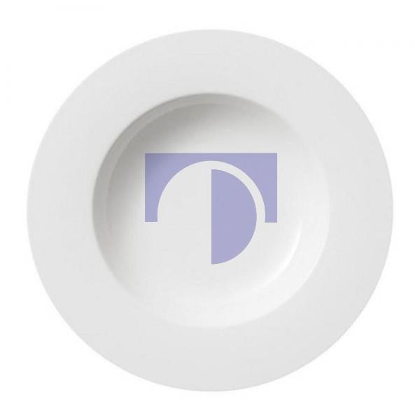 Тарелка суповая 24 см Twist White Villeroy & Boch