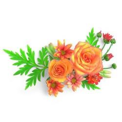 Художні стелі Квіти Flower 12