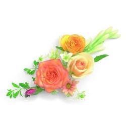Художні стелі Квіти Flower 13