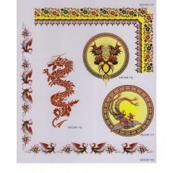 Художественные потолки Декор Decor 115 - 119