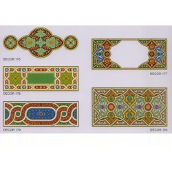 Художественные потолки Декор Decor 176 - 180
