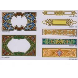Художественные потолки Декор Decor 183 - 189