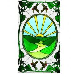 Художественные потолки Витраж Vitrage 22