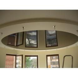 Натяжной потолок круг