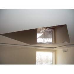 Натяжной потолок квадрат