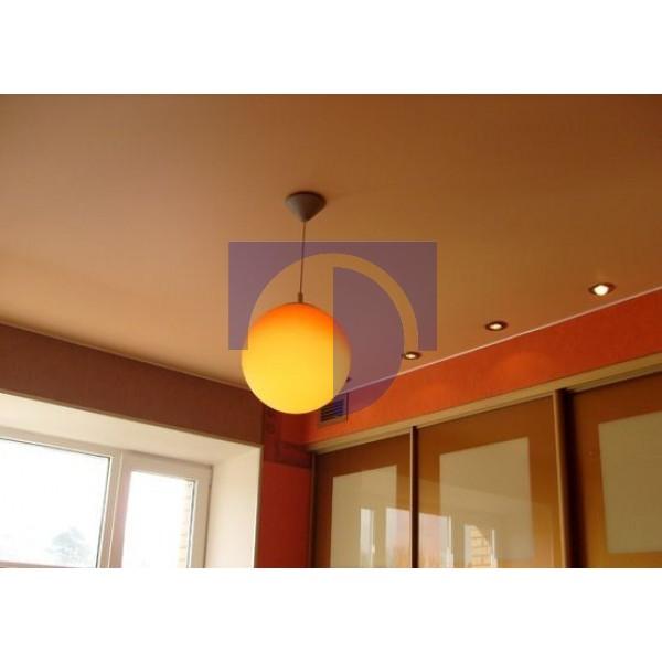 Натяжной потолок матовый цветной