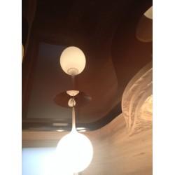 Натяжной потолок - объемная форма дюна