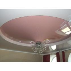 Натяжной потолок - объемная форма конус