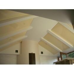 Натяжной потолок под углом (наклоном)