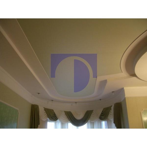 Натяжной потолок сатиновый цветной