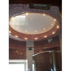 Натяжной потолок в душевую комнату
