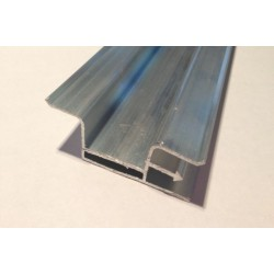 Профиль алюминиевый бесщелевой для многоуровневого натяжного потолка