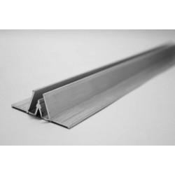 Профиль алюминиевый разделительный для натяжного потолка