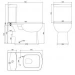 Comfort Унітаз підлоговий компакт Devit 3110123