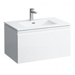 1 Laufen Pro S Раковина 80 см біла глянцева вбудована