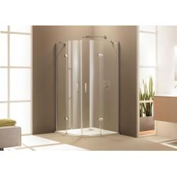 Aura Elegance Душевая дверь распашная 1/4 круга 900мм Huppe 400801.092.321