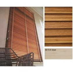 Агат Бамбукові жалюзі Premium Bamboo 50 мм