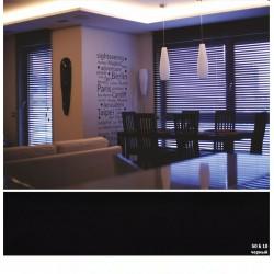 Черный Деревянные жалюзи Basswood 50 мм