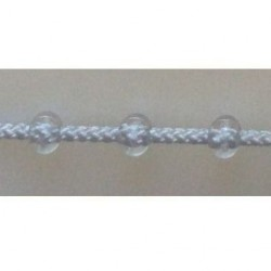 Ланцюжок для штори Плекс сірий