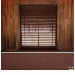 Каштан Деревянные жалюзи Basswood 25 мм