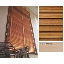 Коралл Бамбуковые жалюзи Premium Bamboo 25 мм