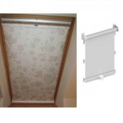 Рулонна штора на мансардне вікно Пружина-32