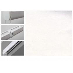Римські штори з тканиною Леонардо білий
