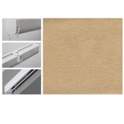 Римські штори з тканиною Леонардо пісочний
