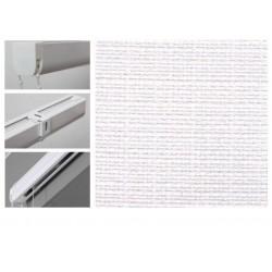 Римські штори з тканиною Шанті білий