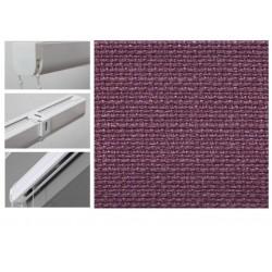 Римські штори з тканиною Шанті пурпурний