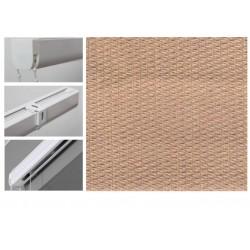 Римські штори з тканиною Тіффані альпака