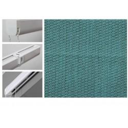 Римські штори з тканиною Тіффані карибське море