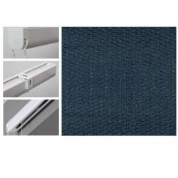 Римські штори з тканиною Тіффані марокканський синій