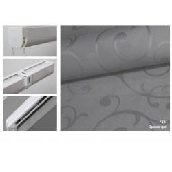 Римська штора, тканина Бріонія грей