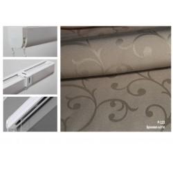 Римская штора, ткань Бриония латте