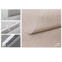 Римская штора, ткань Холст мокко
